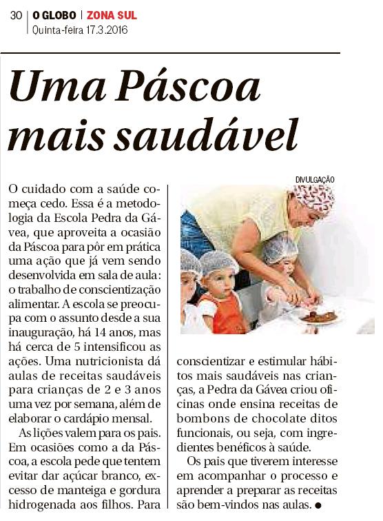 Globo Zona Sul - 17-03-2016